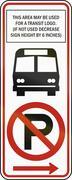 United States MUTCD regulatory road sign - No parking - stock illustration