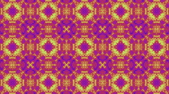 Kaleidoscopic animation background in colors. Stock Footage