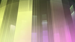 Music Graphics Perspective Moving Bars Multicolored - stock footage