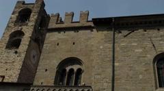 Cattedrale di Sant Alessandro, Bergamo, Italy Stock Footage