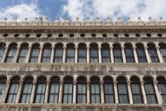 Stock Photo of Arcades of the facade on Piazza San Marco in Venice
