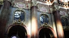 Collegiate Church in Poznan, Poland Stock Footage