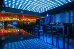 Disco club in night Kuvituskuvat