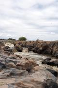 Rapids in a river in Kenya Stock Photos