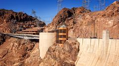 The Visitor Center at Hoover Dam Stock Photos