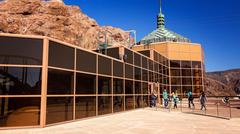Hoover Dam Visitor Center - stock photo