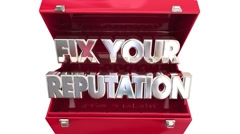 Fix Your Reputation Repair Toolbox Better Reviews Stock Footage