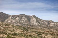 Eastern Ethiopia landscape Stock Photos