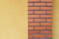 Abstract view of building wall - stock photo