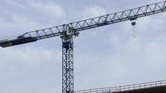 Crane tilt down  - stock footage