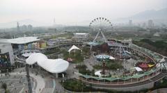 Taipei Children's Amusement Park Stock Footage