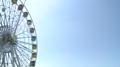 Ferris wheel, Taipei Children's Amusement Park Stock Footage