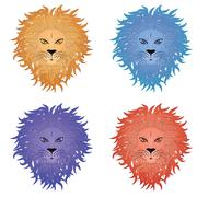 Lion Face Piirros