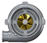 Turbo Compressor 3D render - stock illustration