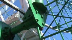 Ferris wheel mechanisms Stock Footage