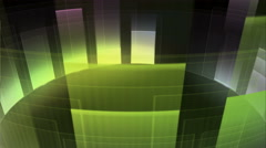 Sound Graphics Equalizer Multicolored Background Stock Footage