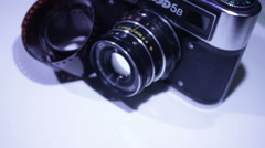 Old Camera 1 Stock Footage