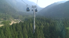 Stock Video Footage of Cable car in Formosan Aboriginal Culture Village, Taiwan