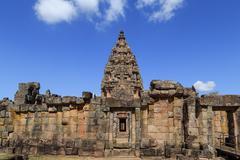 Phanom Rung historical castle Stock Photos