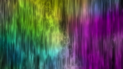 Rainbow Bubble Curtains Motion Background Stock Footage