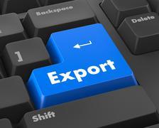 export - stock illustration