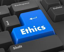 ethics - stock illustration