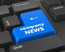 Company News - stock illustration