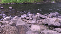 Youngs River Falls Stock Footage