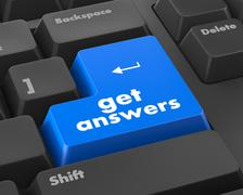 Get answers Stock Illustration