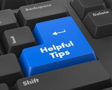 helpful tips - stock illustration