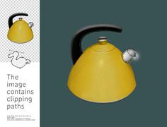 Kettle, Dodo collection - stock illustration