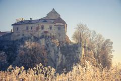 Benedictine abbey in Tyniec, Cracow, Poland - stock photo