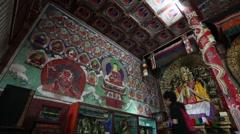 Karakorum (Classical Mongolian:Qara Qorum, Khalkha Mongolian) Stock Footage