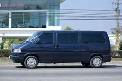 Private van, Volkswagen Transporter. Stock Photos