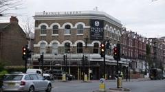 Traditional English pub: Prince Albert pub, London, England, Europe - stock footage