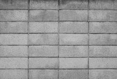 symetry of brick wall pattern use as material texture ,background - stock photo