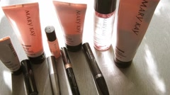 Mary Kay Cosmetics Stock Footage