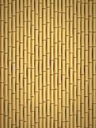 Bamboo pattern - stock illustration