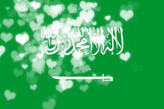 Saudi Arabia flag Stock Illustration