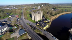 Bunratty Castle Stock Footage