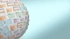 Italian taxes concept Stock Footage