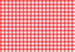 Tablecloth texture-checked fabric seamless vector pattern Stock Illustration