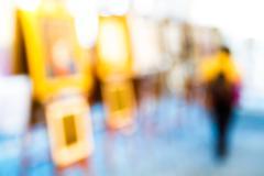 Blurred art gallery Kuvituskuvat