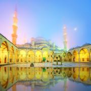 The Suleymaniye Mosque in Istanbul, Turkey - stock photo