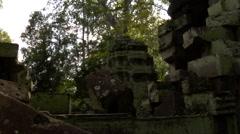Ta Phrong ruins 2 Stock Footage