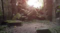 Ancient Temple Ruin in Cambodia. Video 3840x2160 Stock Footage