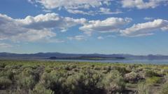 Mono Lake High Desert Eastern Sierras Timelapse 4K Stock Footage