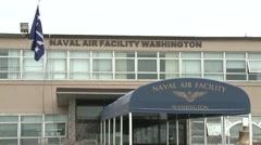 Exterior Joint Base Andrews-Naval Air Facility Washington, D.C. - stock footage