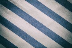 Blue white vintage texture fabric cotton background cotton textile tablecloth Stock Photos