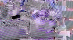 Glitches on the screen Stock Footage